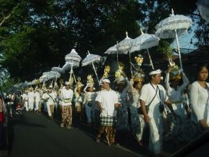 Bali Ceremony Procession